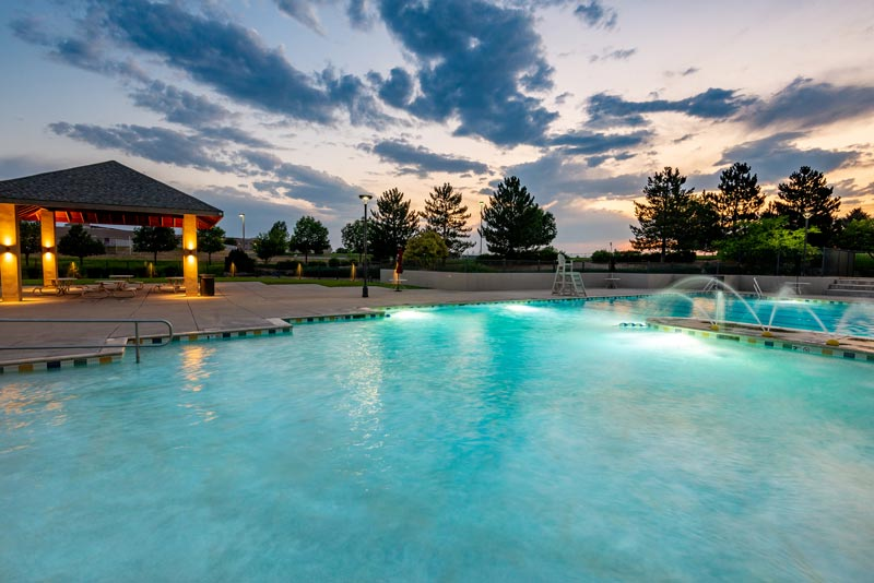 Stonegate North Villages Pool fountain area